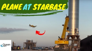 Ag Tractor Plane Spraying for Mosquitos at Launch Site 7:03am Starbase SpaceX Sunday July 25, 2021
