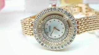 Женские Модные Часы с Двигающимися Кристаллами Бренд : #DUNGBEETLE от AliExpress Watch Global Store