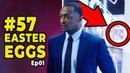 FALCÃO E O SOLDADO INVERNAL Tudo o que você Perdeu no Episódio 1 Easter Eggs e Referências
