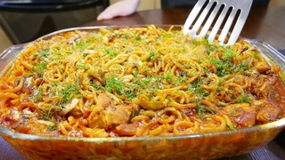 МАКАРОНЫ с КУРИЦЕЙ всегда готовлю ТОЛЬКО ТАК! Запеканка сочная из макарон и курицы