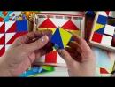 обзор игры Никитиных Сложи узор деревянные и пластмассовые