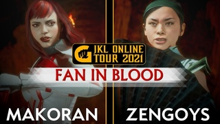 MK11 JKL 2021 | MakoraN vs Zengoys | ВЕЕР В КРОВИ