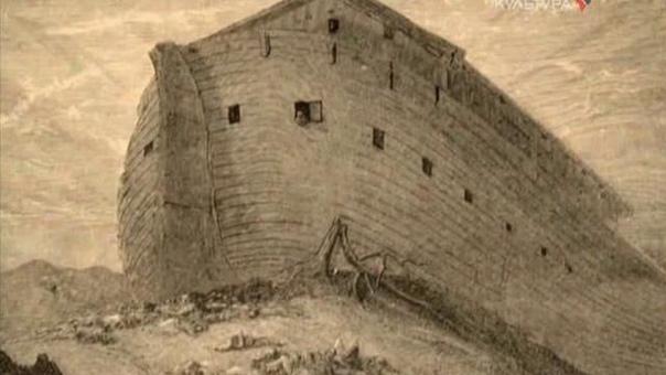 НОЕВ КОВЧЕГ История Ноя, рассказанная в книге Бытия, случилась где-то на Ближнем Востоке около 5 тысяч лет назад.Семья Ноя состояла из трех сыновей - Сима, Хама, Иафета, и их жён.Ноя называют в