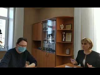 Пресс-конференция с замглавы Бердска и начальником управления образования о ситуации по коронавирусу в городе.