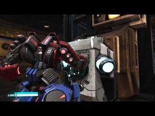 Прохождение Transformers: Fall of Cybertron Часть 1# Защита в ковчеге