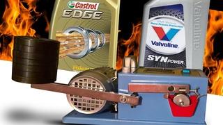 Castrol Edge 0W40 vs Valvoline SynPower 0W40 Test olejów silnikowych 100°C