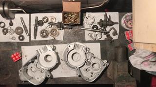 Сборка двигателя Тула ТМЗ Турист Муравей (Реставрация мотороллера тула Т200К) Часть 1