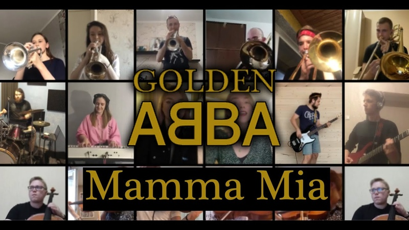ABBA Mamma mia Golden ABBA cover