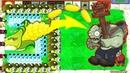 1 Cob Cannon vs Gatling Pea vs Snow Pea vs All Zombies Hack PVZ