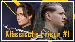 Authentische Frisur der Wehrmacht ✂️ für Film & Reenactment #1 [Slick Back]