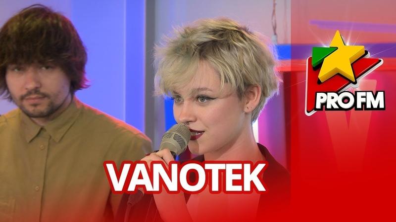 VANOTEK feat Mikayla Cherry Lips ProFM LIVE Session
