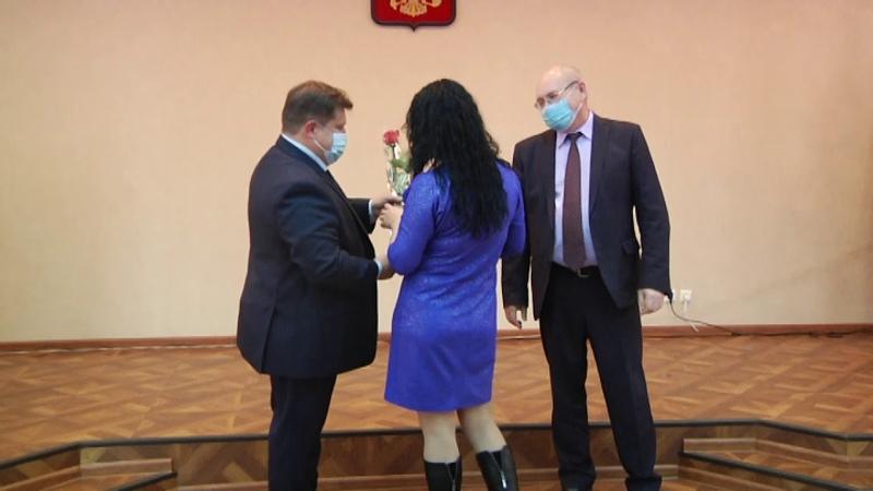 Обновление Доски Почета Барабинского района