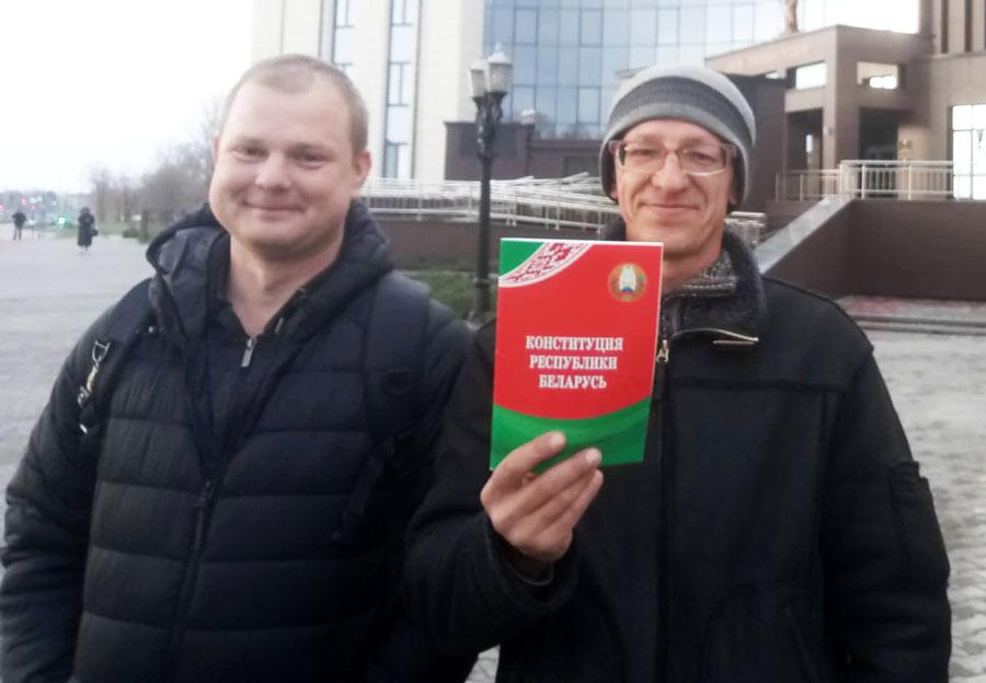 В Бресте оштрафовали противника аккумуляторного завода Андрея Слижа