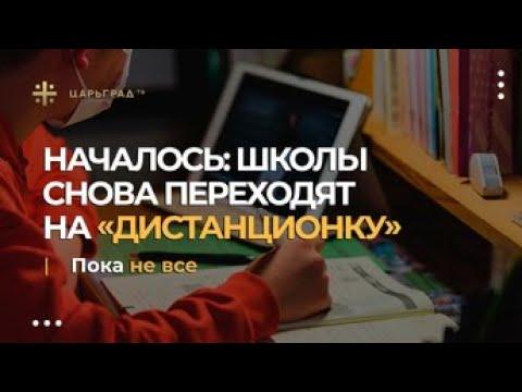 Вредительство КАИНИТОВ продолжается Русские школы снова переводят на «дистанционку», дебилизация наших детей нарастает.
