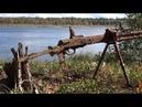 Склад оружия в блиндаже Раскопки в Карелии Юрий Гагарин