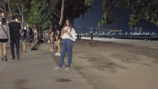 Pattaya Girls Beach Road (more than 100 Girls Freelancers). Thailand
