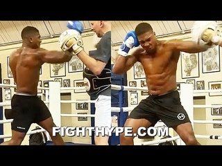 "ANTHONY JOSHUA UNVEILS ""SUPER MACHO MAN"" KNOCKOUT UPPERCUT & HOOK COMBO IN STORE FOR KUBRAT PULEV"
