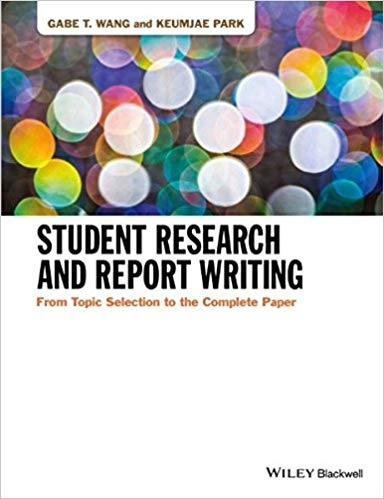 Student Research and Report Wri - Gabe T