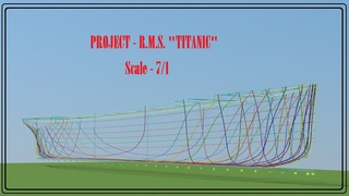 """Project """"Titanic"""" in Minecraft   2021!  The scale of - 7/1 !"""