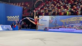 Anastasia Simakova - Hoop Nationals 2021 EF
