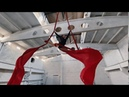 Aerial silks by Elena Marso School