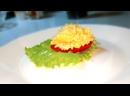 Как Приготовить простейшую закуску СЫР с чесноком на помидоре