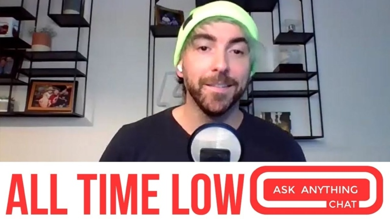 All Time Low What Color Is Alex's Hair
