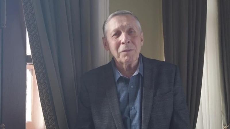 Заслуженный артист России Виктор Яковлев поздравляет женщин с 8 Марта