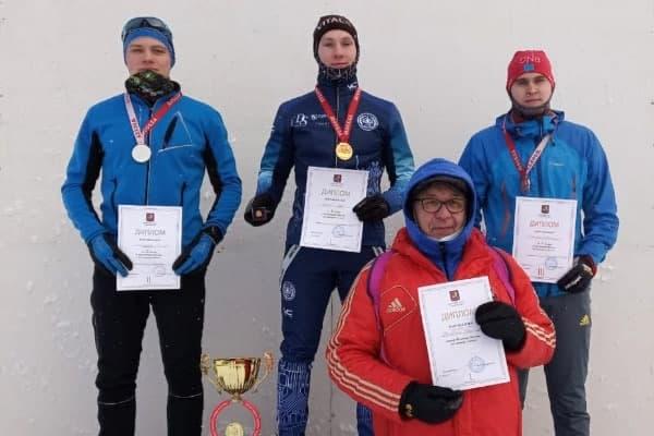 Студент МЭИ - призёр чемпионата Москвы по лыжным гонкам Фото из группы Федерации лыжных гонок Москвы, ВК