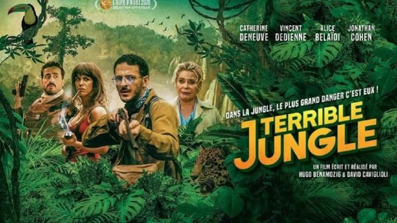 Ужаcные джунглu 2020 TS комедия приключения