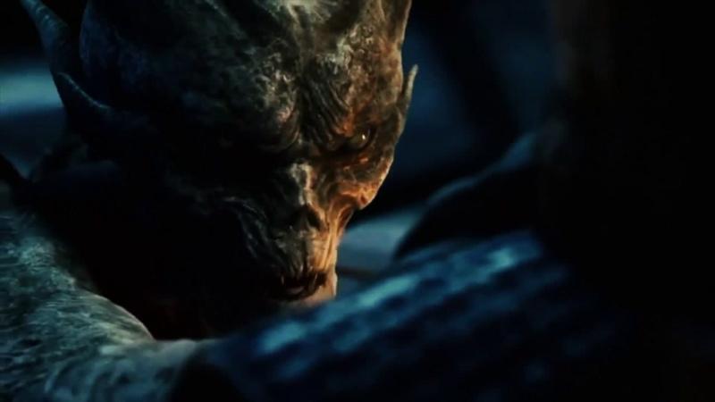 Сцена изгнания дьявола х ф Время ведьм 2011