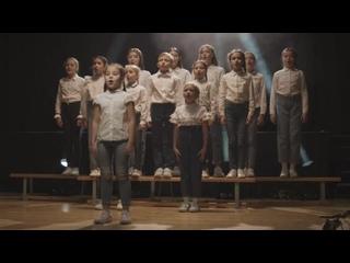 Дети поют для Президента Татарстана
