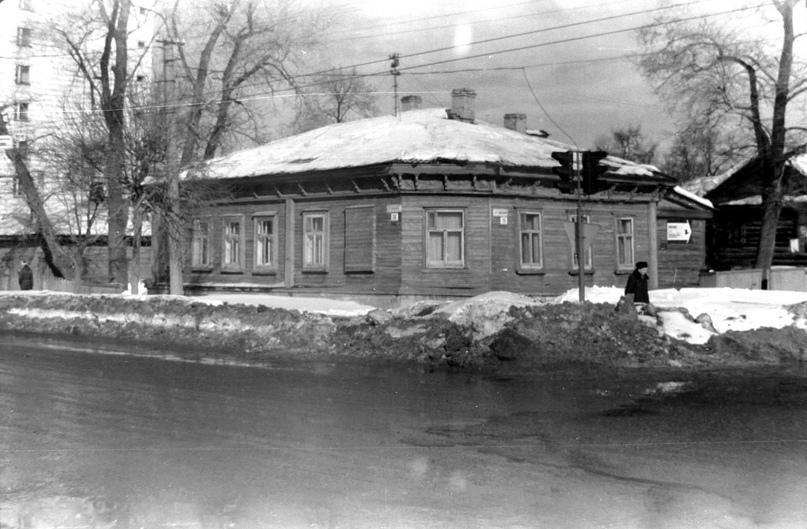 Дом Лаженицына. 1994 г. Фото: Александр Кирюхин.