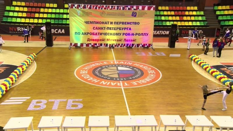 Чемпионат и первенство Санкт Петербурга по акробатическому рок н роллу 7 марта 2020