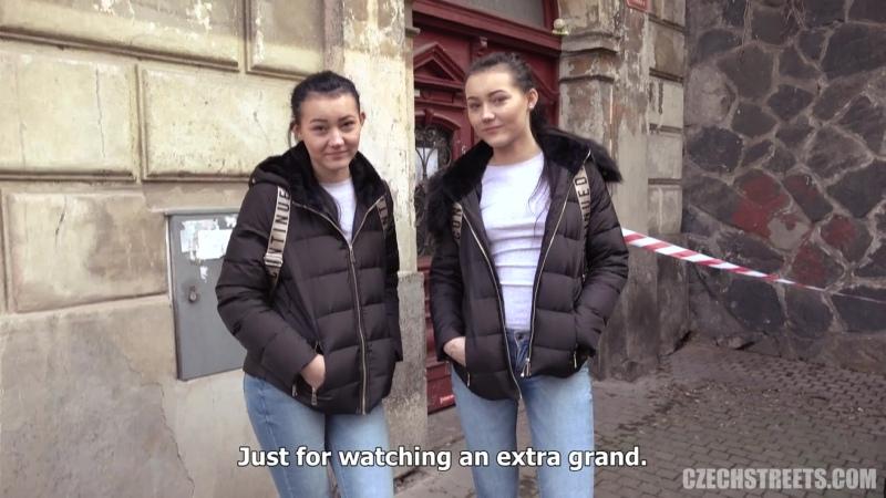 CzechStreets - E124 Naive twins [Porno,Pron,amateur,порно,czech,blowjob,Чешское порно,на камеру,анал,Milf,мамка,Сестры,2020]