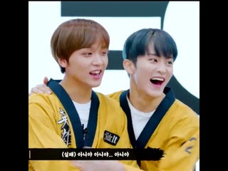 when mark is laughing and haechan is nearby, he always pulls him into a hug