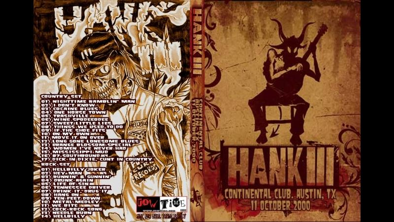 Hank III 10 11 00 Continental Club Austin TX