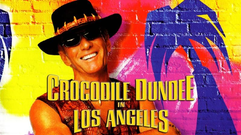 Крокодил Данди в Лос Анджелесе Crocodile Dundee in Los Angeles телевизионная версия TV 4 3 94 минуты 2001 DVDRip
