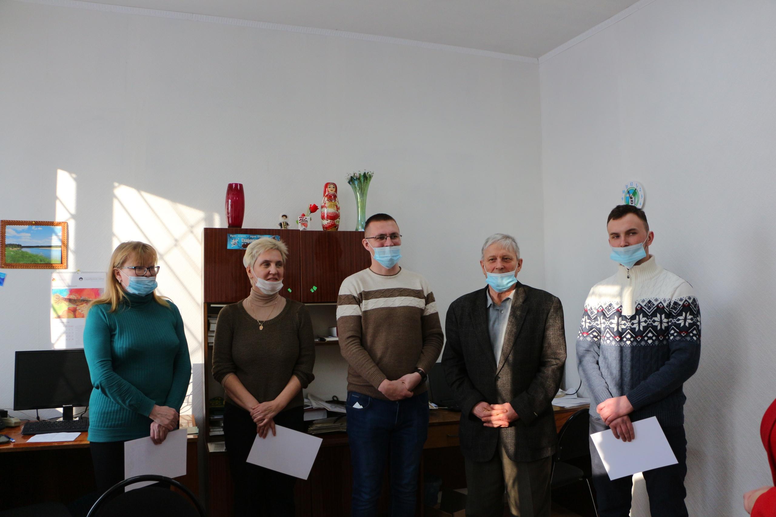 Николай Жилин выразил благодарность сотрудникам районной газеты Выль туйöд