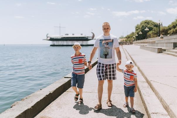 Семейная фотосессия в Ялте - Фотограф MaryVish.ru