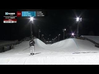 MEDAL RUNS_ Women's Ski SuperPipe _ X Games Aspen 2021
