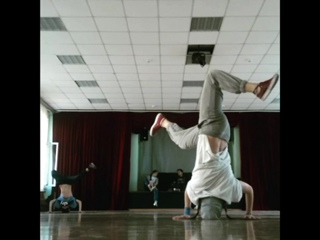 Practice headspin