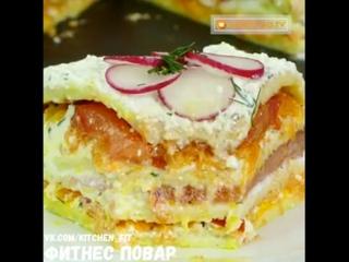 Кабачковый тортик: Фитнес Повар