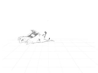 Пумба (фрагмент, черновая анимация без фазовки)