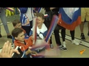 Российских чемпионов ЕИ-2019 чествовали в Доме болельщиков под гром и молнию