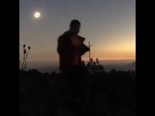 Солнечное затмение в Чили