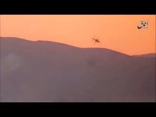 Падение вертолета Ми-35М в Сирии