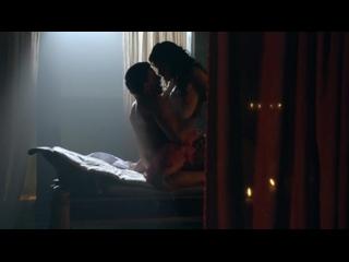 Ханна Мэнгэн Лоуренс(Hanna Mangan Lawrence)голая грудь секс в сериале Спартак 18+