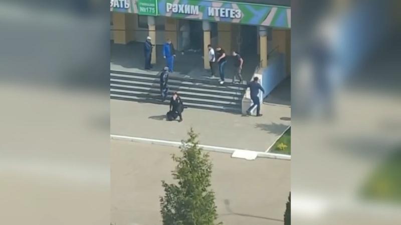 Расстрел школьников в Казани Где полиция Где Росгвардия Где камеры Митинги разгоняли