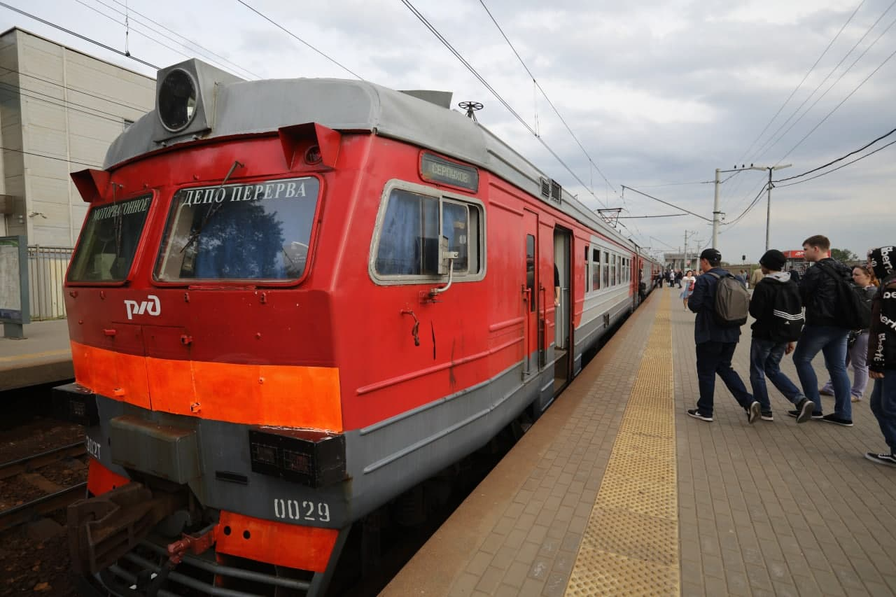 На станции «Чухлинка» в марте изменится расписание электропоездов. Фото А.Белкин. Местные новости